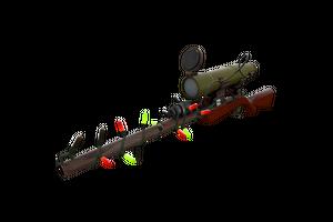 Strange Festivized Professional Killstreak Wildwood Sniper Rifle Factory New