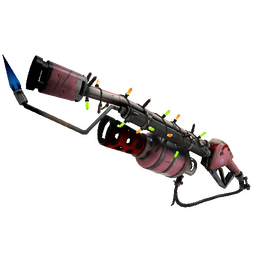 free tf2 item Strange Festive Balloonicorn Flame Thrower (Well-Worn)
