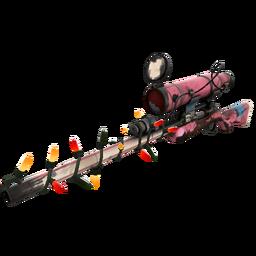Strange Festivized Killstreak Balloonicorn Sniper Rifle (Battle Scarred)