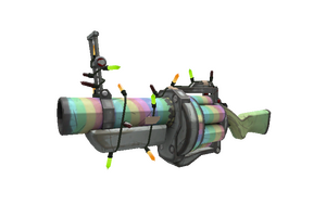 Festivized Specialized Killstreak Rainbow Grenade Launcher Field Tested