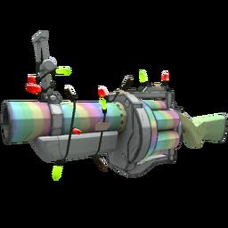 Festivized Specialized Killstreak Rainbow Grenade Launcher (Minimal Wear)