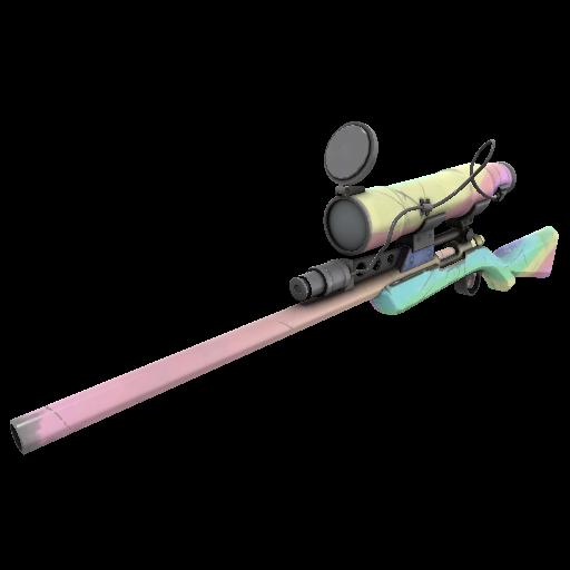 Gore-Spattered Specialized Killstreak Sniper Rifle