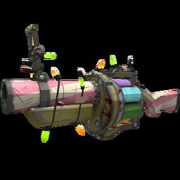 free tf2 item Festivized Specialized Killstreak Sweet Dreams Grenade Launcher (Well-Worn)