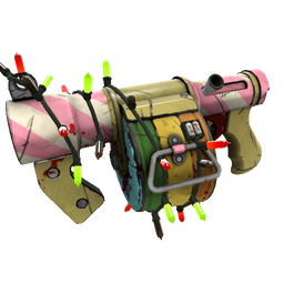Strange Festivized Sweet Dreams Stickybomb Launcher (Well-Worn)