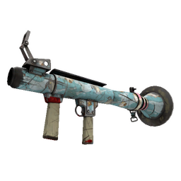Strange Blue Mew Rocket Launcher (Battle Scarred)