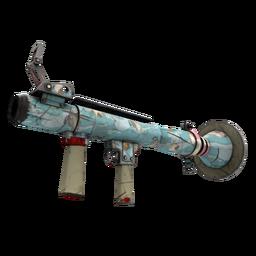 free tf2 item Blue Mew Rocket Launcher (Well-Worn)