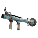 Unusual Blue Mew Rocket Launcher (Well-Worn)