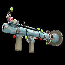 Festivized Killstreak Blue Mew Rocket Launcher (Factory New)