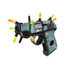 Festivized Blue Mew Pistol (Field-Tested)