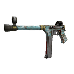 Blue Mew SMG (Battle Scarred)