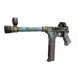 Strange Blue Mew SMG (Well-Worn)