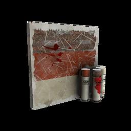 free tf2 item Civil Servant Mk.II War Paint (Battle Scarred)