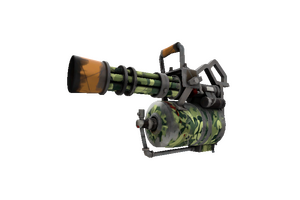 King Of The Jungle Minigun Well Worn