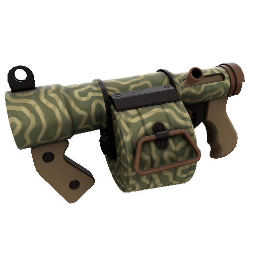 Forest Fire Mk.II Stickybomb Launcher
