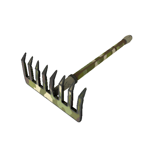 Woodland Warrior Mk.II Back Scratcher