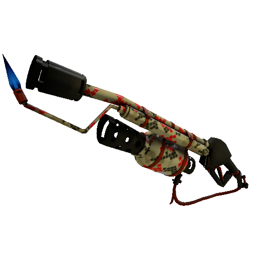 Wrapped Reviver Mk.II Flame Thrower