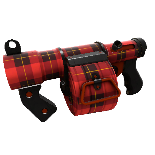 Plaid Potshotter Mk.II Stickybomb Launcher