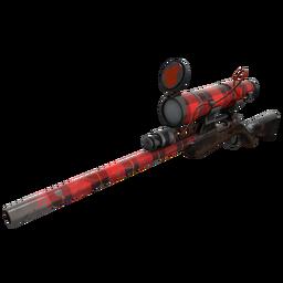 Plaid Potshotter Mk.II Sniper Rifle (Battle Scarred)