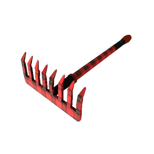 Plaid Potshotter Mk.II Back Scratcher