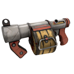 Strange Civic Duty Mk.II Stickybomb Launcher (Well-Worn)