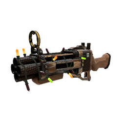 Strange Festivized Nutcracker Mk.II Iron Bomber (Minimal Wear)