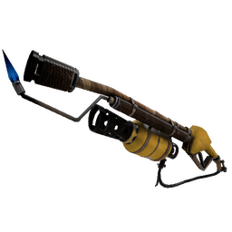 free tf2 item Nutcracker Mk.II Flame Thrower (Field-Tested)