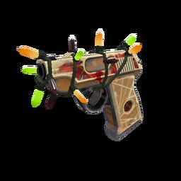 Festivized Homemade Heater Pistol (Well-Worn)