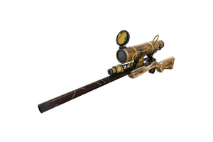 Lumber From Down Under Sniper Rifle Well Worn