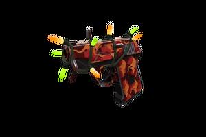 Festivized Killstreak Red Rock Roscoe Pistol Minimal Wear