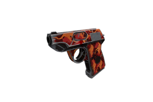 Strange Professional Killstreak Red Rock Roscoe Pistol Well Worn