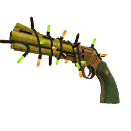 Strange Festivized Killstreak Piña Polished Revolver (Minimal Wear)