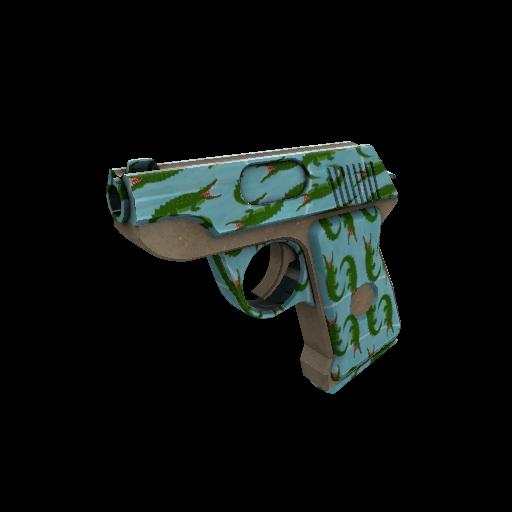 Croc Dusted Pistol