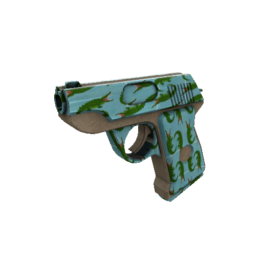 Croc Dusted Pistol