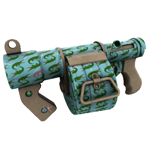 Croc Dusted Stickybomb Launcher