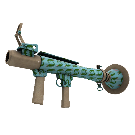 Croc Dusted Rocket Launcher