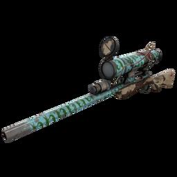Strange Croc Dusted Sniper Rifle (Battle Scarred)