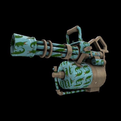 Croc Dusted Minigun
