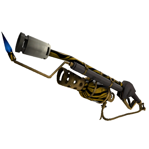 Tiger Buffed Flame Thrower
