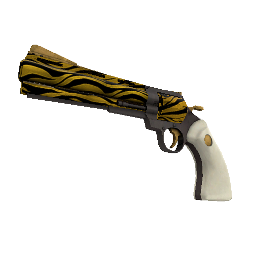 Tiger Buffed Revolver