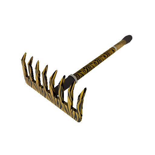 Tiger Buffed Back Scratcher