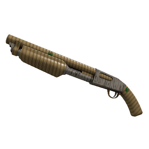 Bamboo Brushed Shotgun