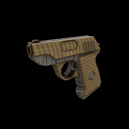 Bamboo Brushed Pistol