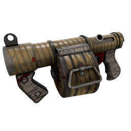 Bamboo Brushed Stickybomb Launcher (Battle Scarred)