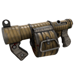 Bamboo Brushed Stickybomb Launcher (Well-Worn)