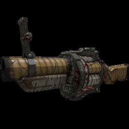 Strange Specialized Killstreak Bamboo Brushed Grenade Launcher (Battle Scarred)