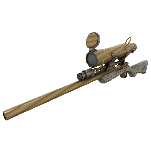 Bamboo Brushed Sniper Rifle