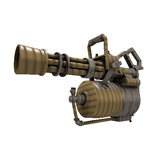 Bamboo Brushed Minigun