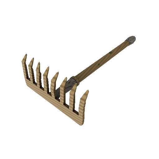 Bamboo Brushed Back Scratcher