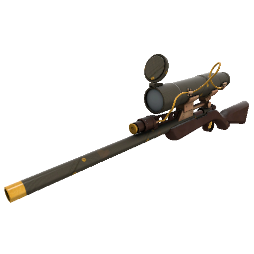 Sax Waxed Sniper Rifle