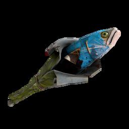Macaw Masked Holy Mackerel (Battle Scarred)